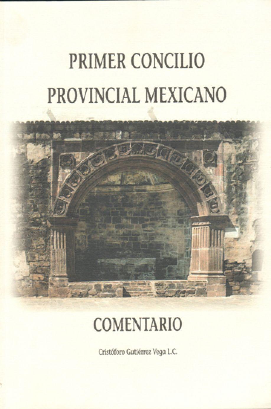 Primer Concilio Provincial Mexicano