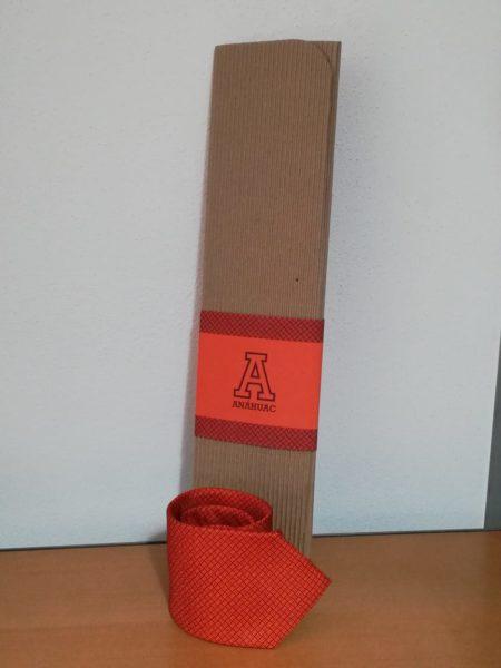 Corbata naranja Anáhuac