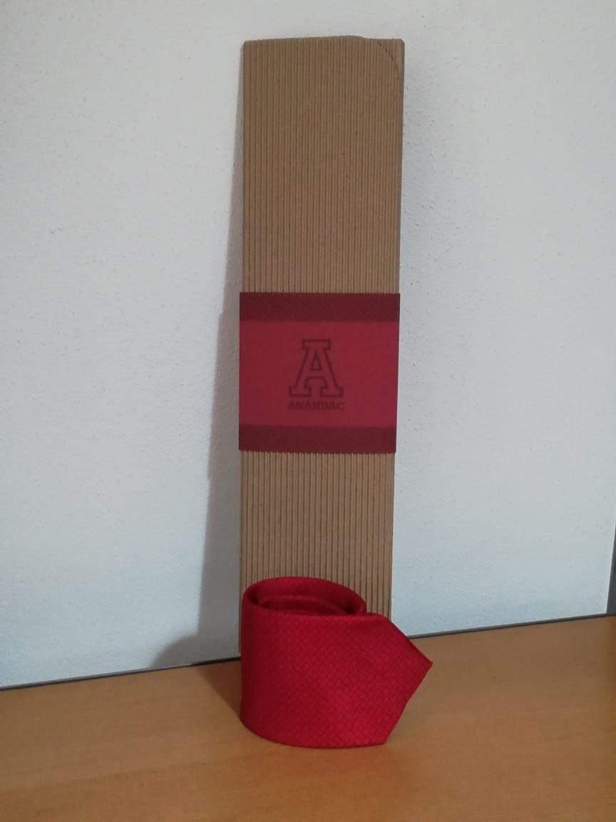 Corbata cereza Anáhuac