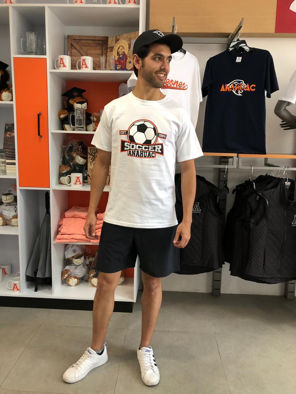 Playera soccer Anáhuac M