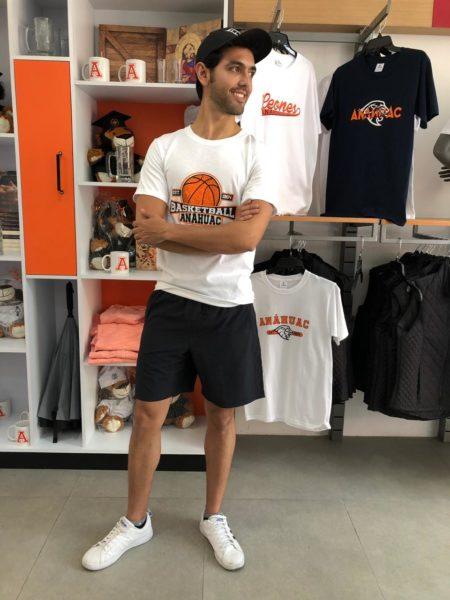 Playera Básquetbol Anáhuac G