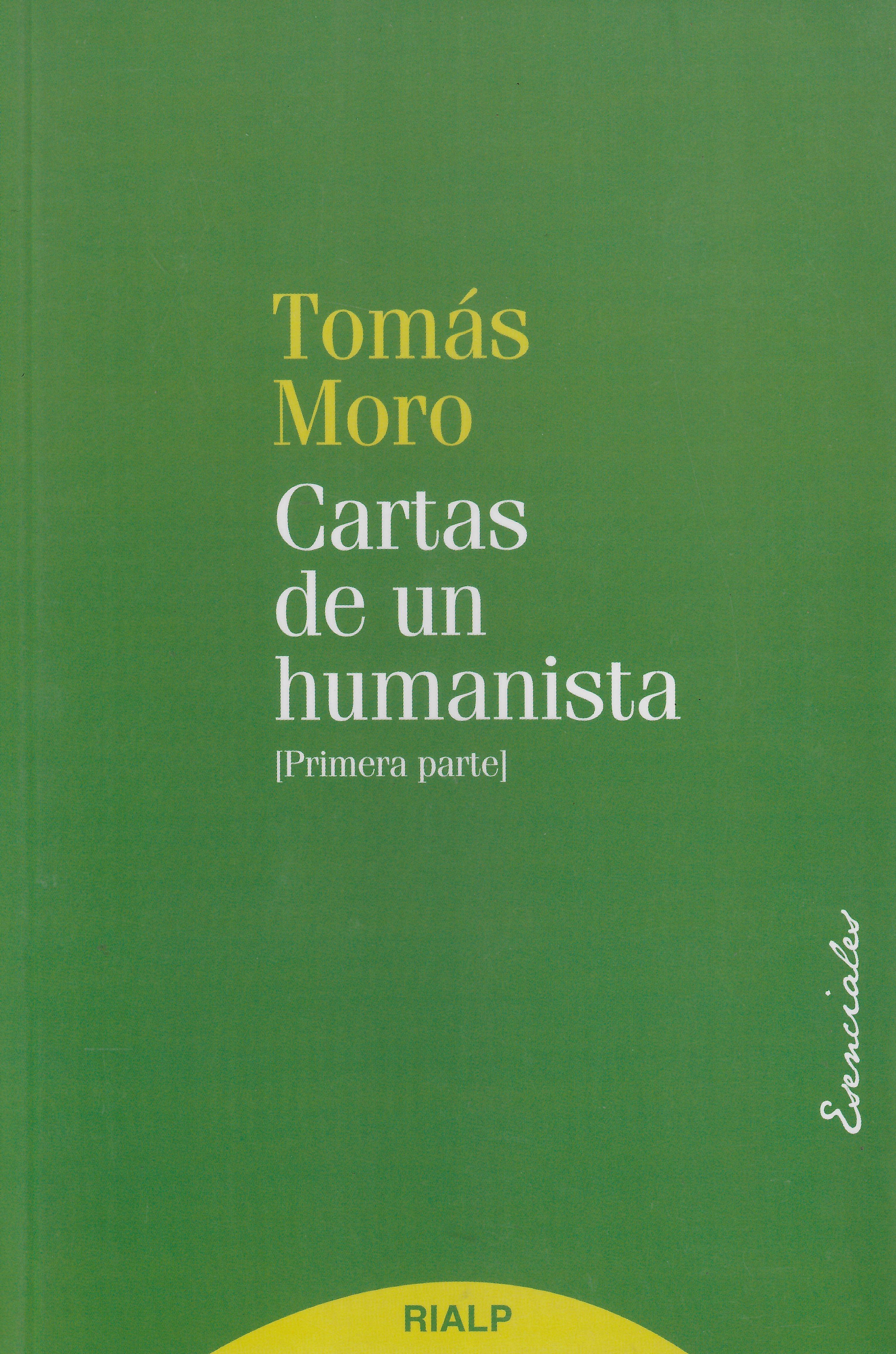 Cartas de un humanista (primera parte)