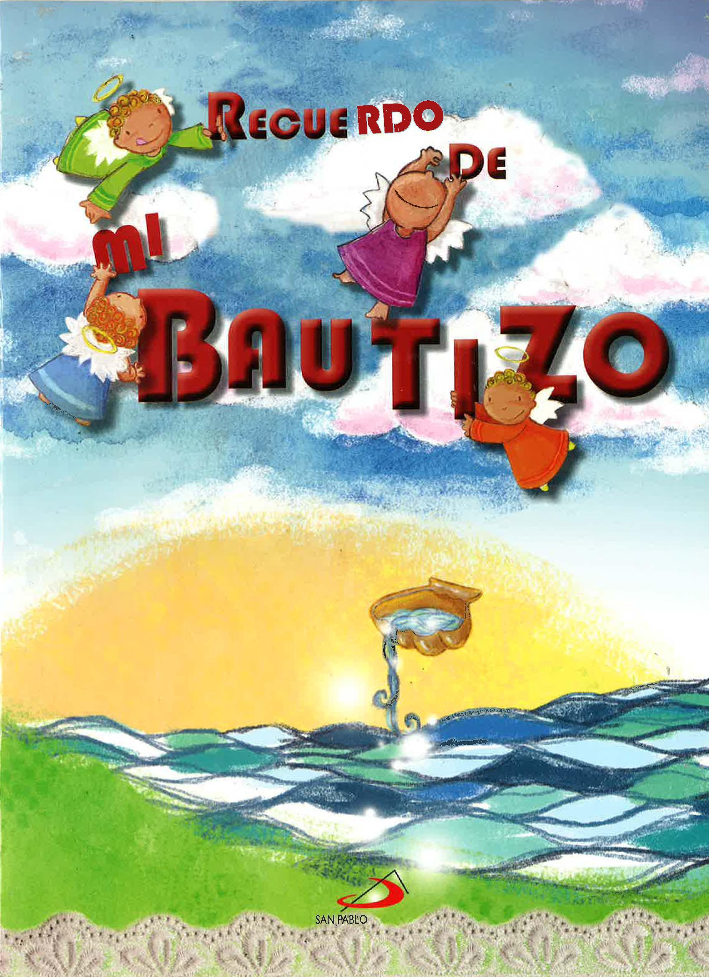 RECUERDO DE BAUTIZO
