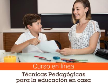Curso breve – Técnicas pedagógicas para la educación en casa