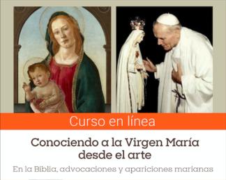 Curso breve – Conociendo a la Virgen María desde el arte