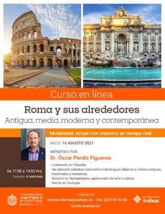 Curso breve – Roma y sus alrededores